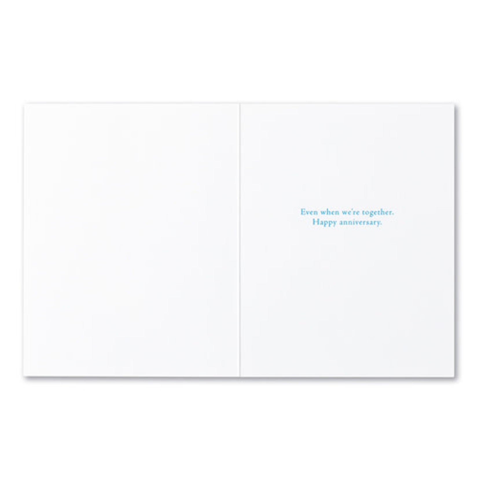 I'M NEVER NOT THINKING ABOUT YOU CARD
