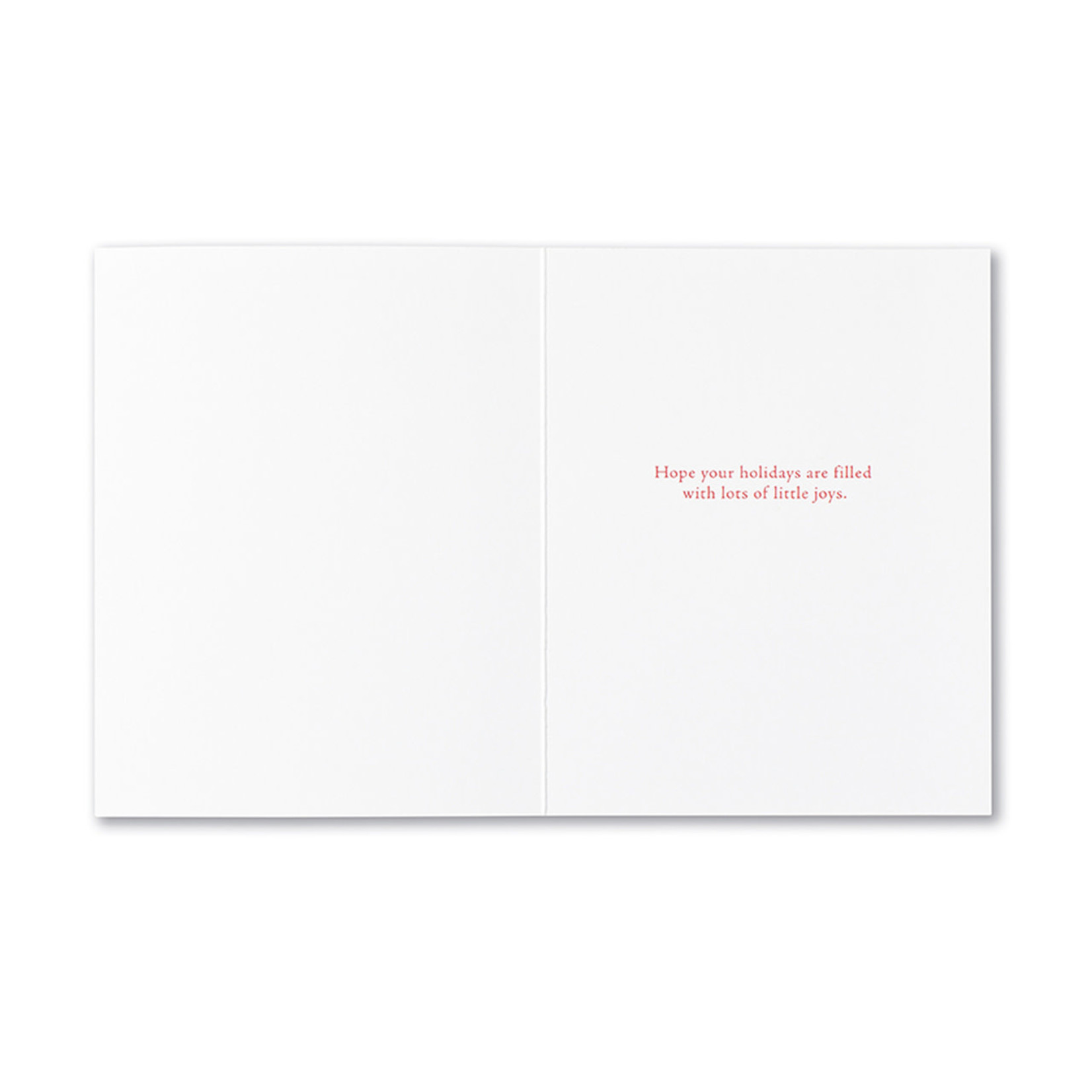 COMPENDIUM CHRISTMAS! THE VERY WORD CARD
