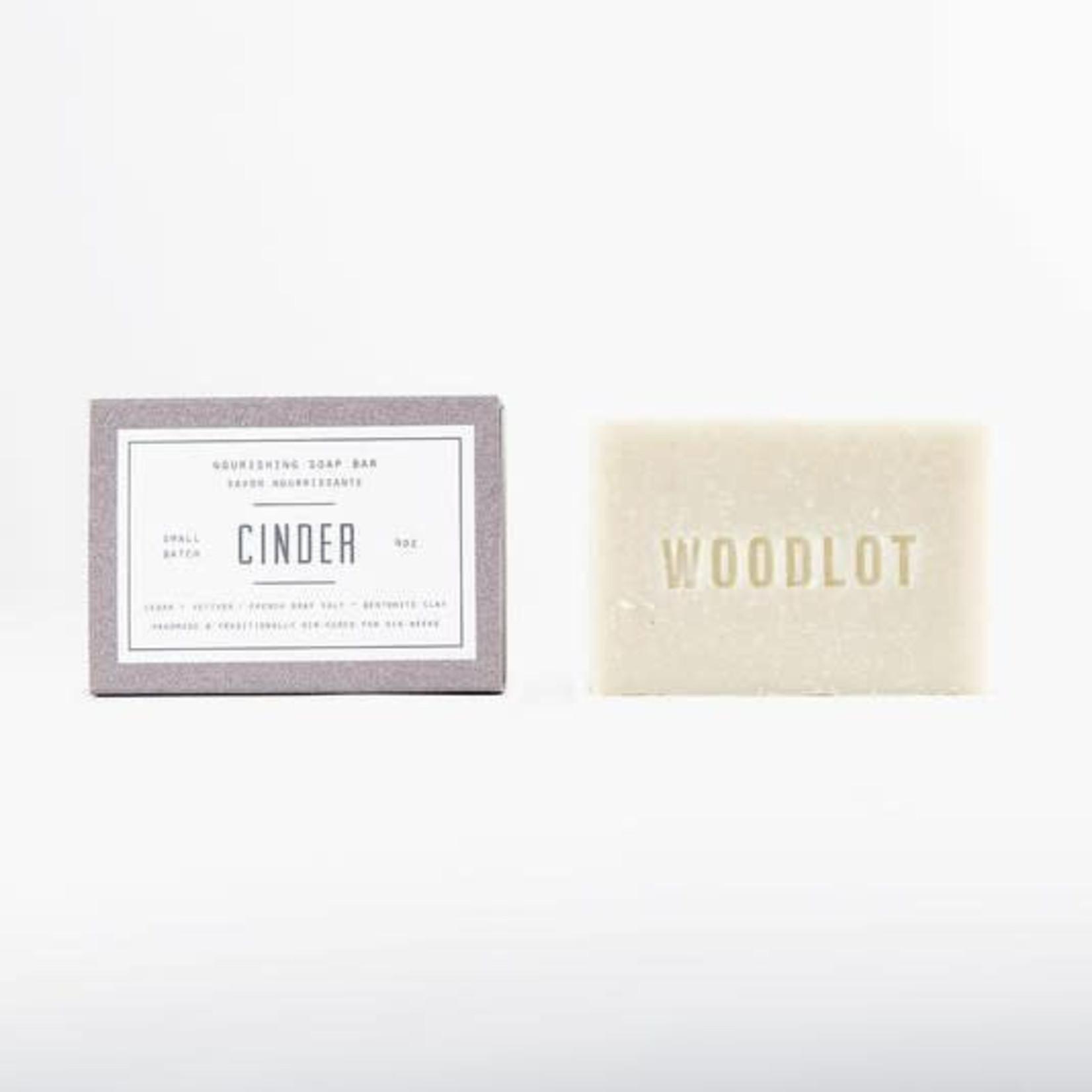WOODLOT SOAP BAR - CINDER