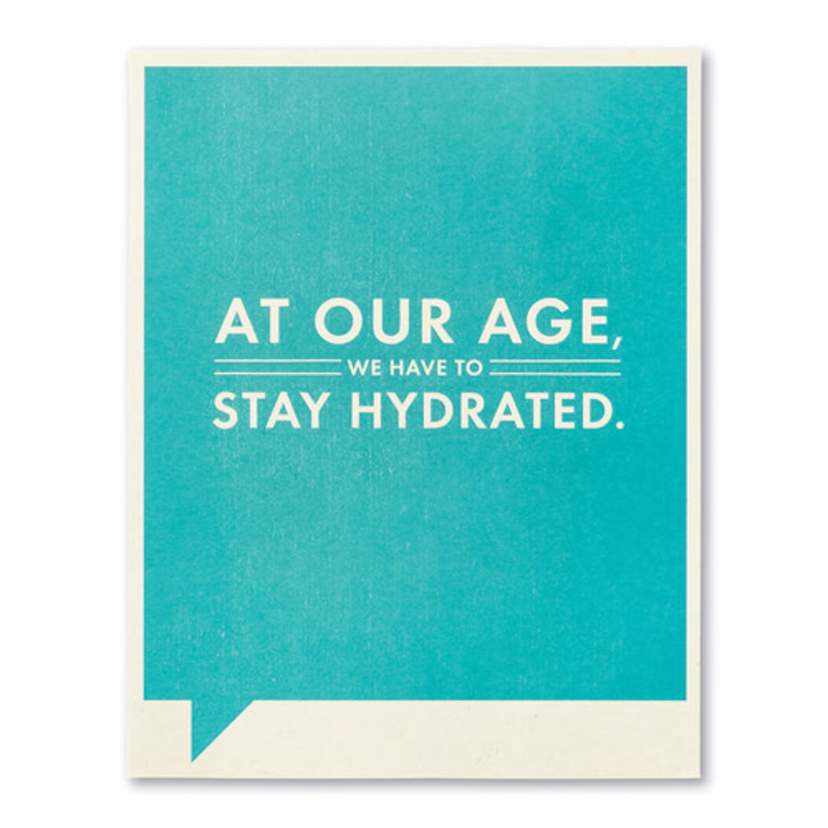 AT OUR AGE CARD