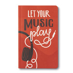 COMPENDIUM WRITE NOW JOURNAL - LET YOUR MUSIC PLAY
