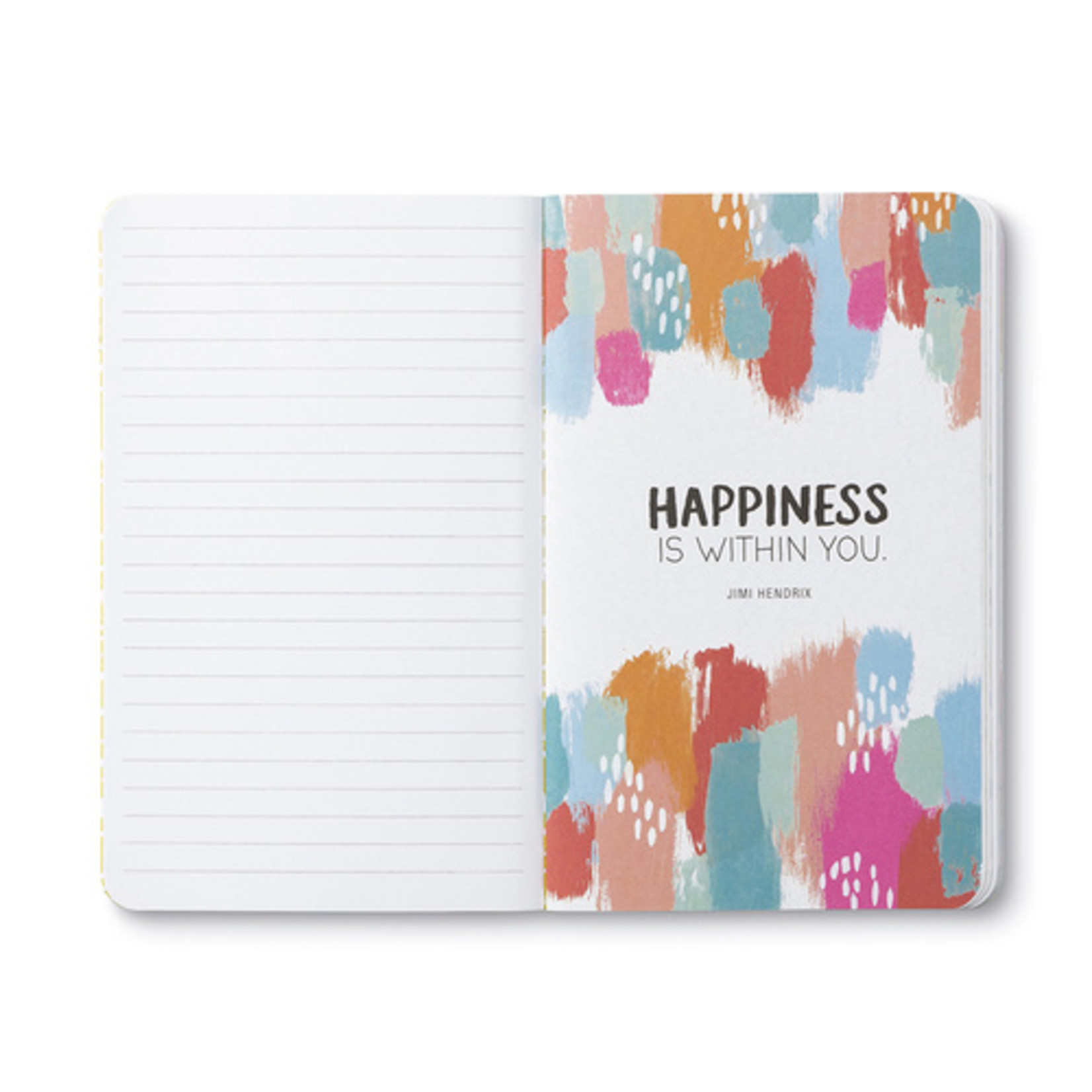 WRITE NOW JOURNAL - SAY HELLO TO HAPPY