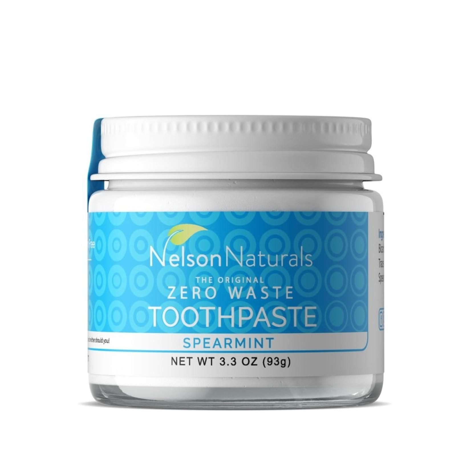 NELSON NATURALS TOOTHPASTE JAR - SPEARMINT