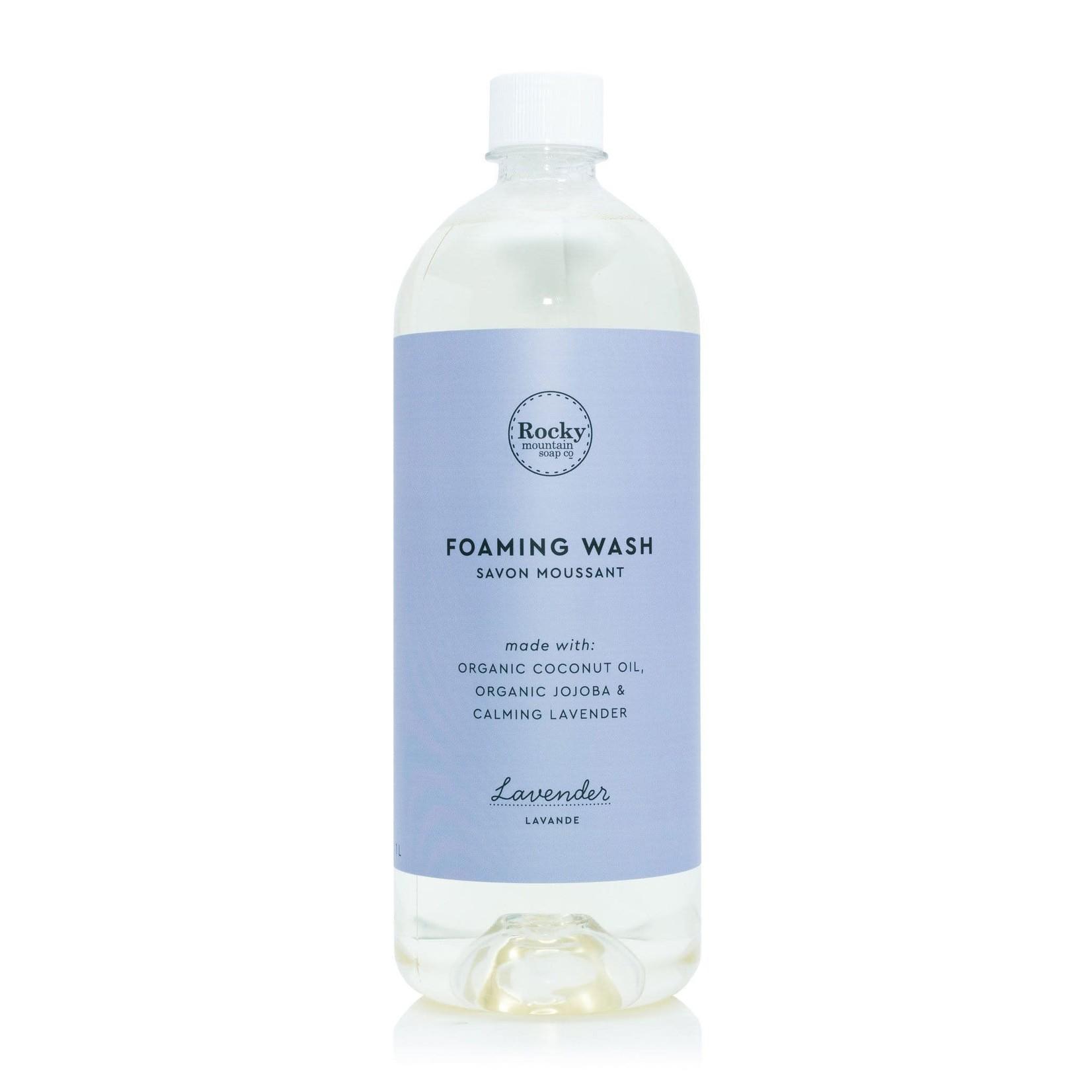 ROCKY MOUNTAIN SOAP CO. FOAMING WASH - LAVENDER