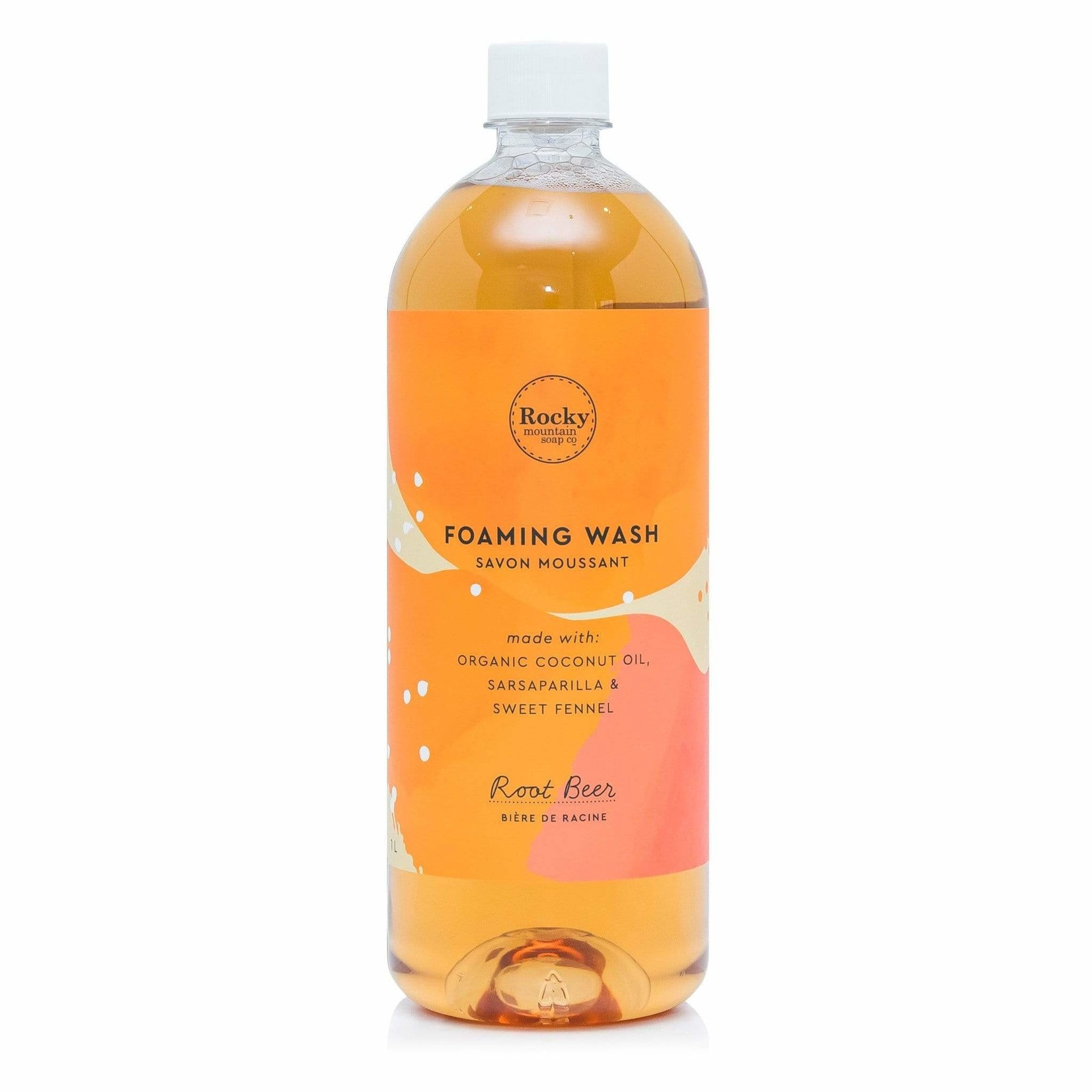 ROCKY MOUNTAIN SOAP CO. FOAMING WASH - ROOT BEER