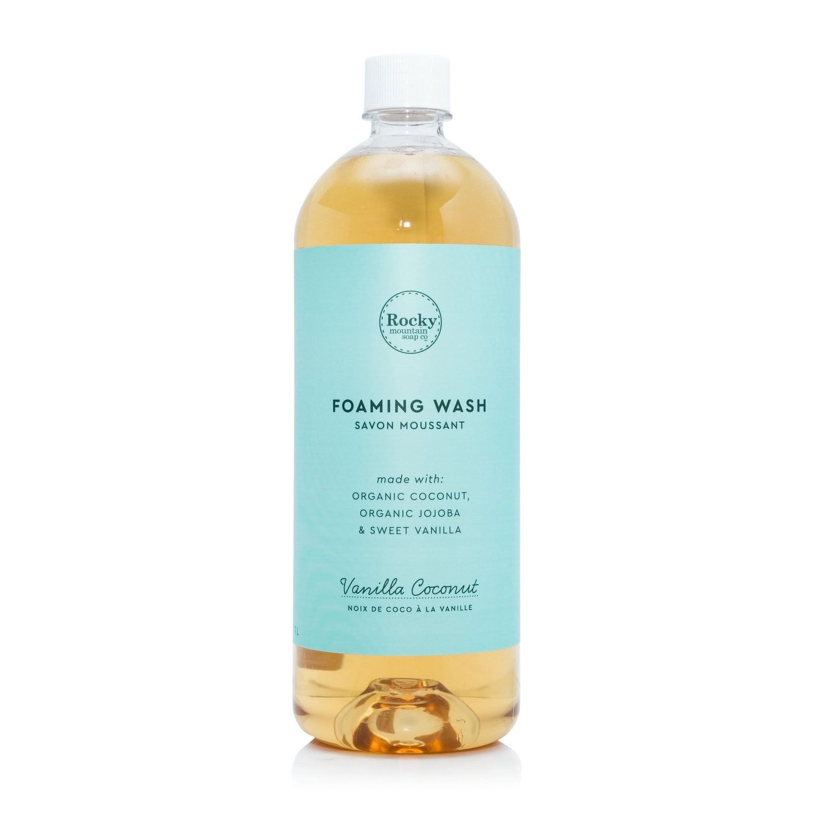 ROCKY MOUNTAIN SOAP CO. FOAMING WASH - VANILLA COCONUT