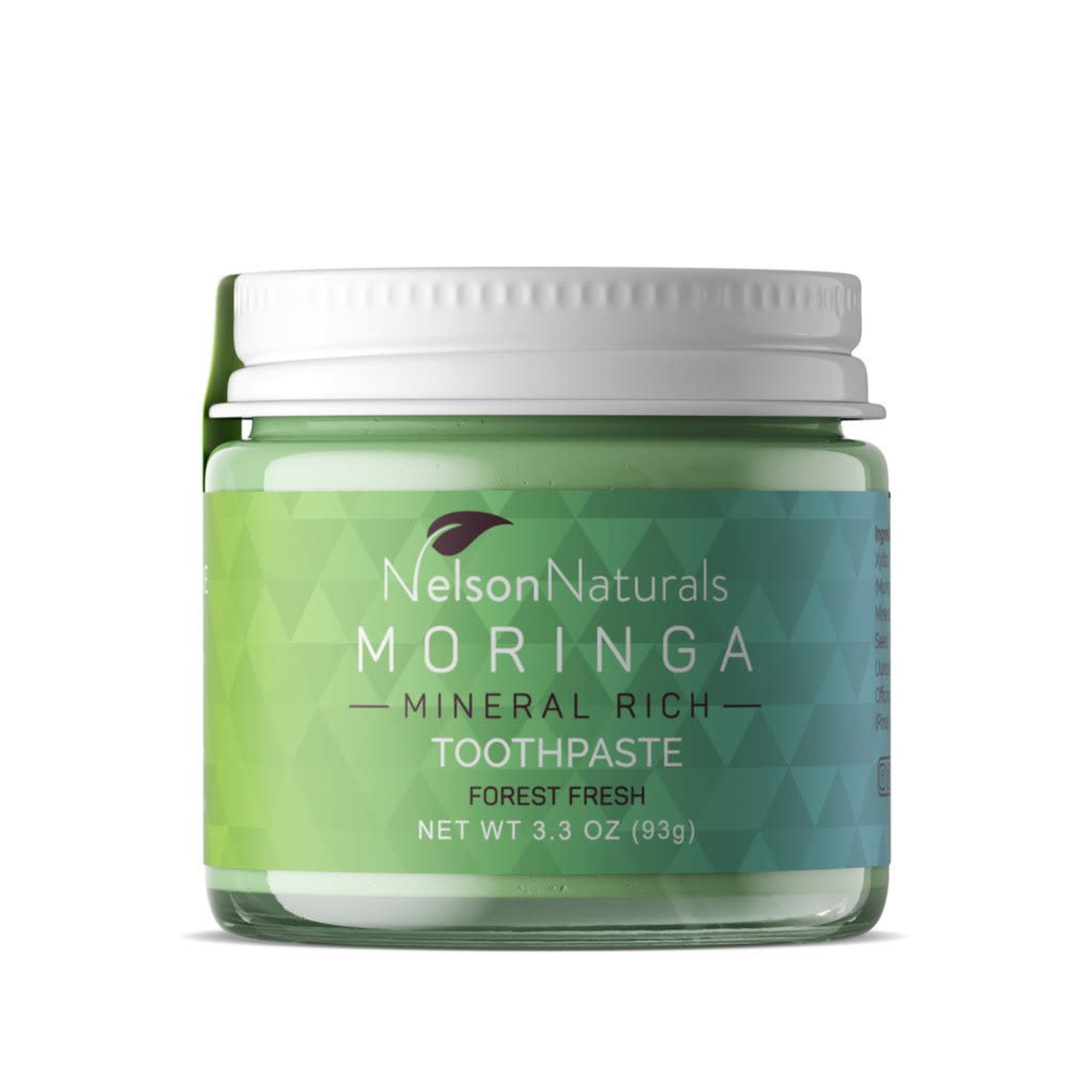 NELSON NATURALS TOOTHPASTE JAR - MORINGA MINERAL RICH