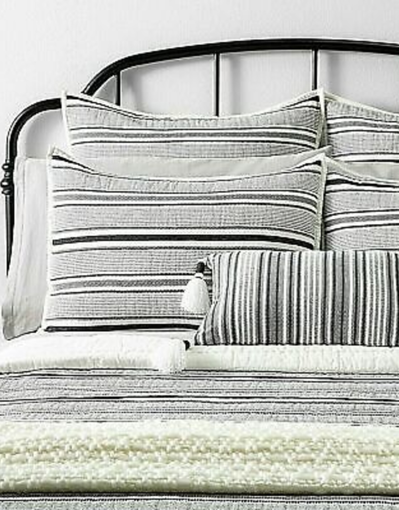 King Comforter Set Railroad Grey Sour Cream Level Up Appliances More
