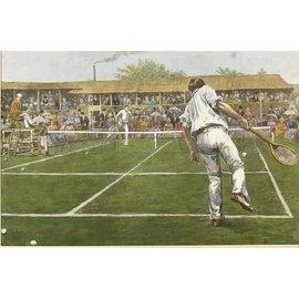 Maxsports Lawn Tennis Championship Match at Wimbledon 34cmx23cm