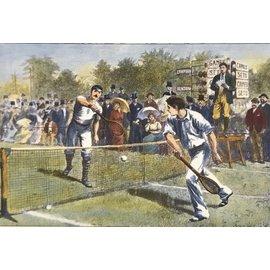 Maxsports Lawn Tennis Meeting Wimbledon 5th Round 34cmx23cm