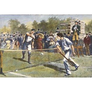 Maxsports Lawn Tennis Wimbledon 5th Round 34cmx23cm