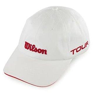 Wilson Wilson Tour Hat Cotton WH/RD
