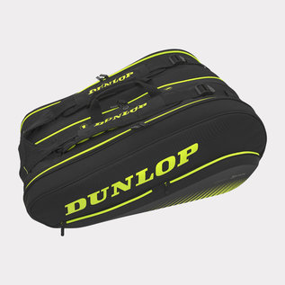 Dunlop Dunlop SX Performance 12 Pack Thermo Tennis Bag Black/Yellow