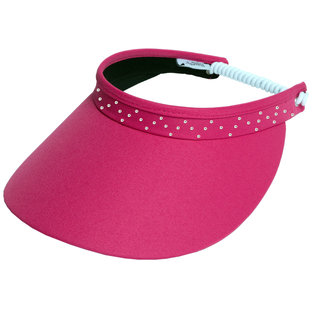 GLOVE IT GLOVE IT - PINK BLING VISOR