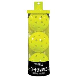 Franklin Sports Inc. Franklin-Pickleball X-40 3 Pk Yellow