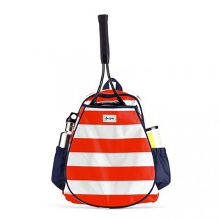 Ame&Lulu Ame & Lulu Game On Backpack Sailor Red/White