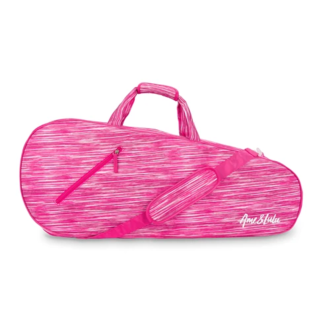 Ame&Lulu Pink Grunge 3 Racquet Bag