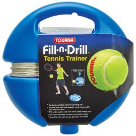 Unique Fill-n-Drill Tennis Trainer