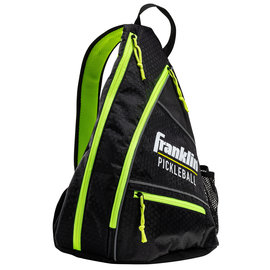 Franklin Sports Inc. Multi-Purpose Sling Bag - Black/Optic Green