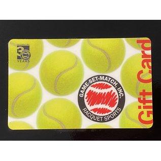 Game-Set-Match eCom Gift Card