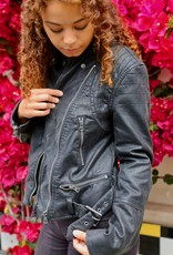 Free People OB1010147 Faux Leather Jacket