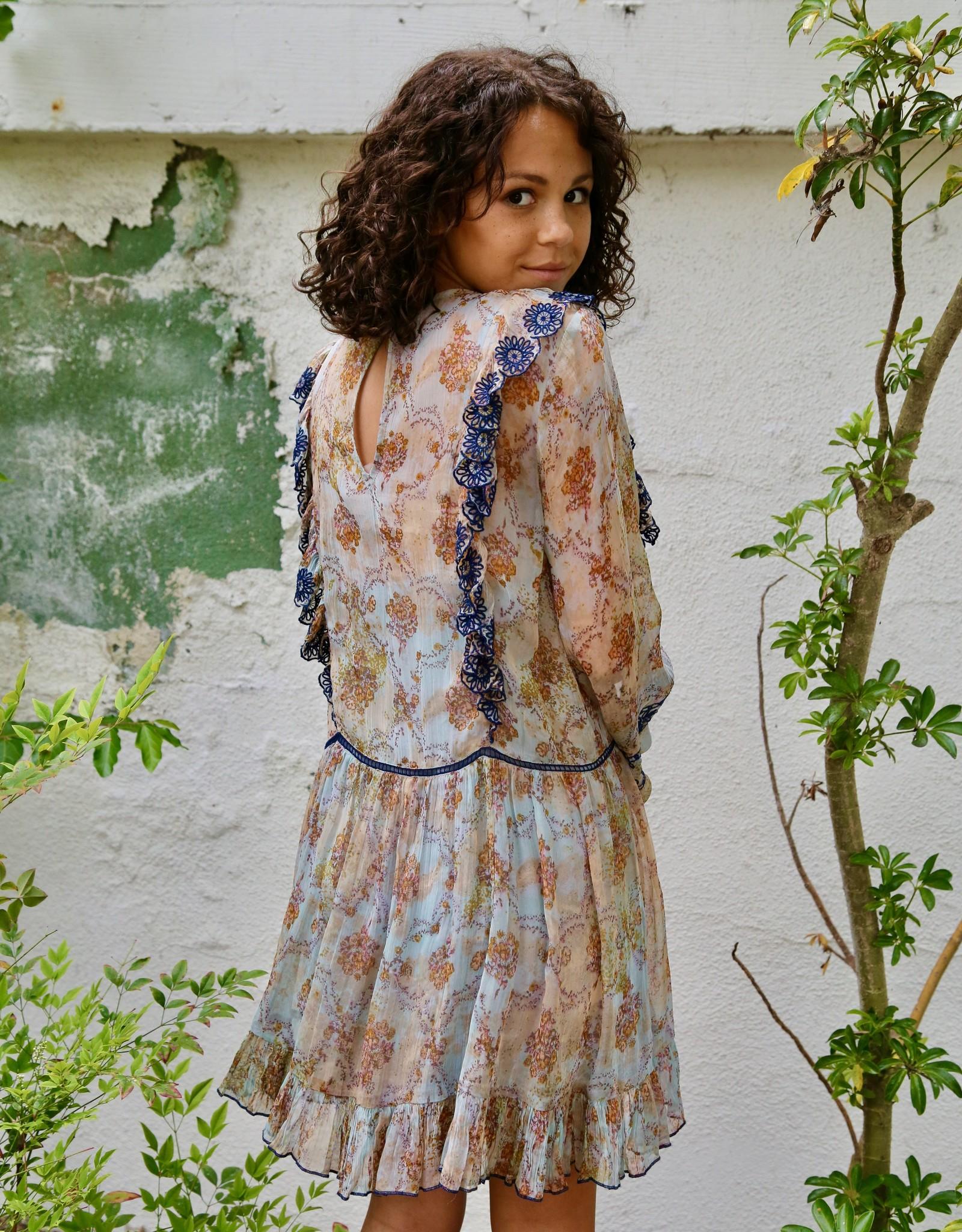 Free People OB994155 Country Roads Mini Dress