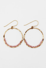 Amy Joy Jewelry AJ22 Moonstone Hoops