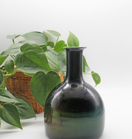Quinn Harmon Green Iridescent Vase