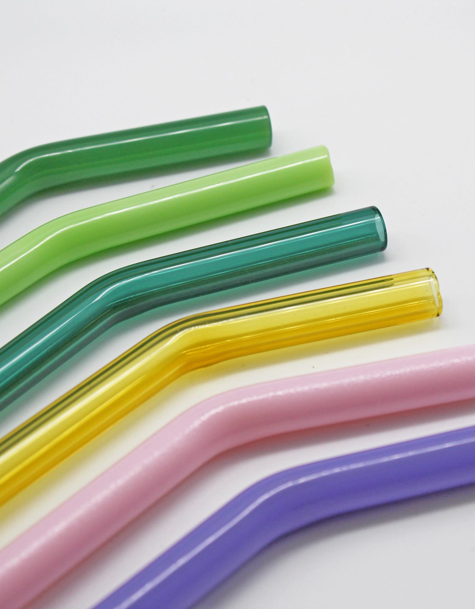 Quinn Harmon Plain Glass Straws
