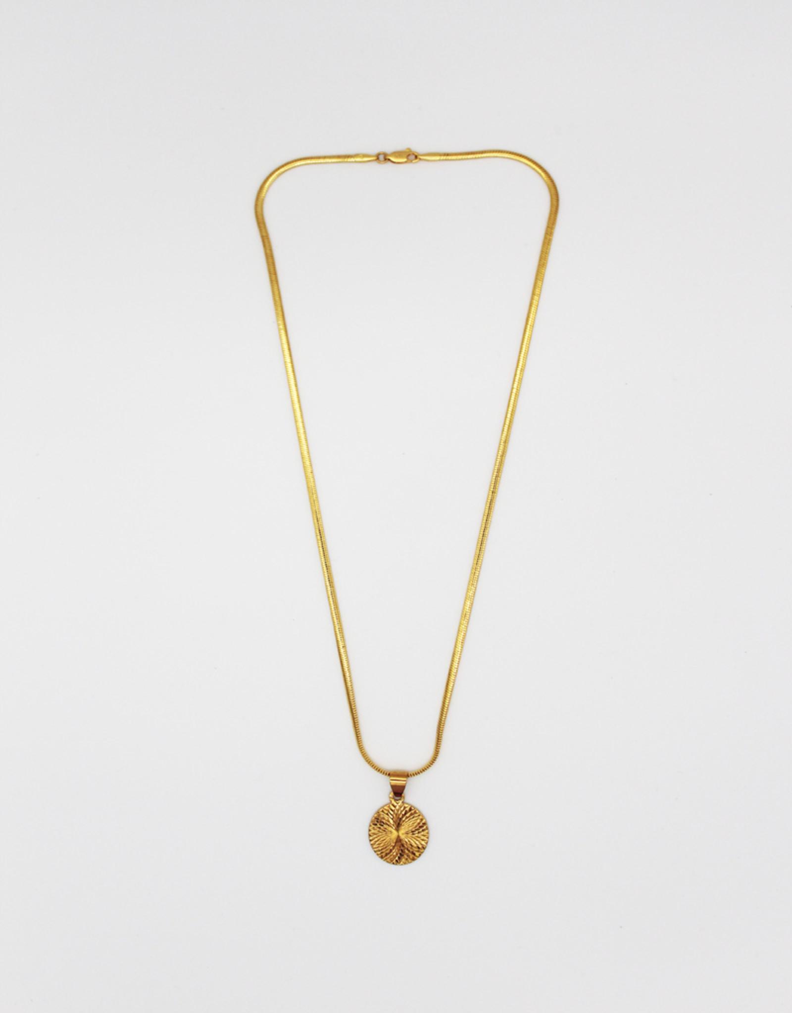 Madison Richey MR17 Circle Gold Filled Pendant