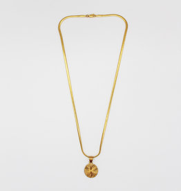 Madison Richey Circle Gold Pendant