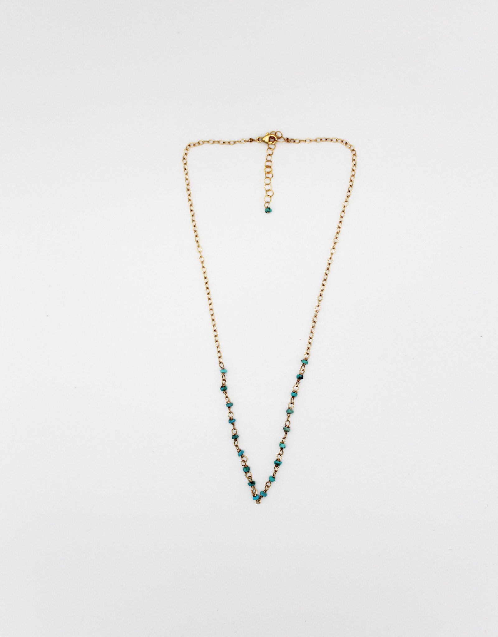 Karla Pattur KP27 Turquoise 14K Filled Necklace