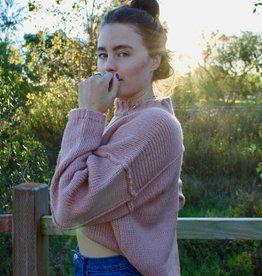Dress Forum Charlie Mock Neck Pullover Sweater