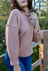 Dress Forum FW3916Charlie  Mock Neck Pullover Sweater