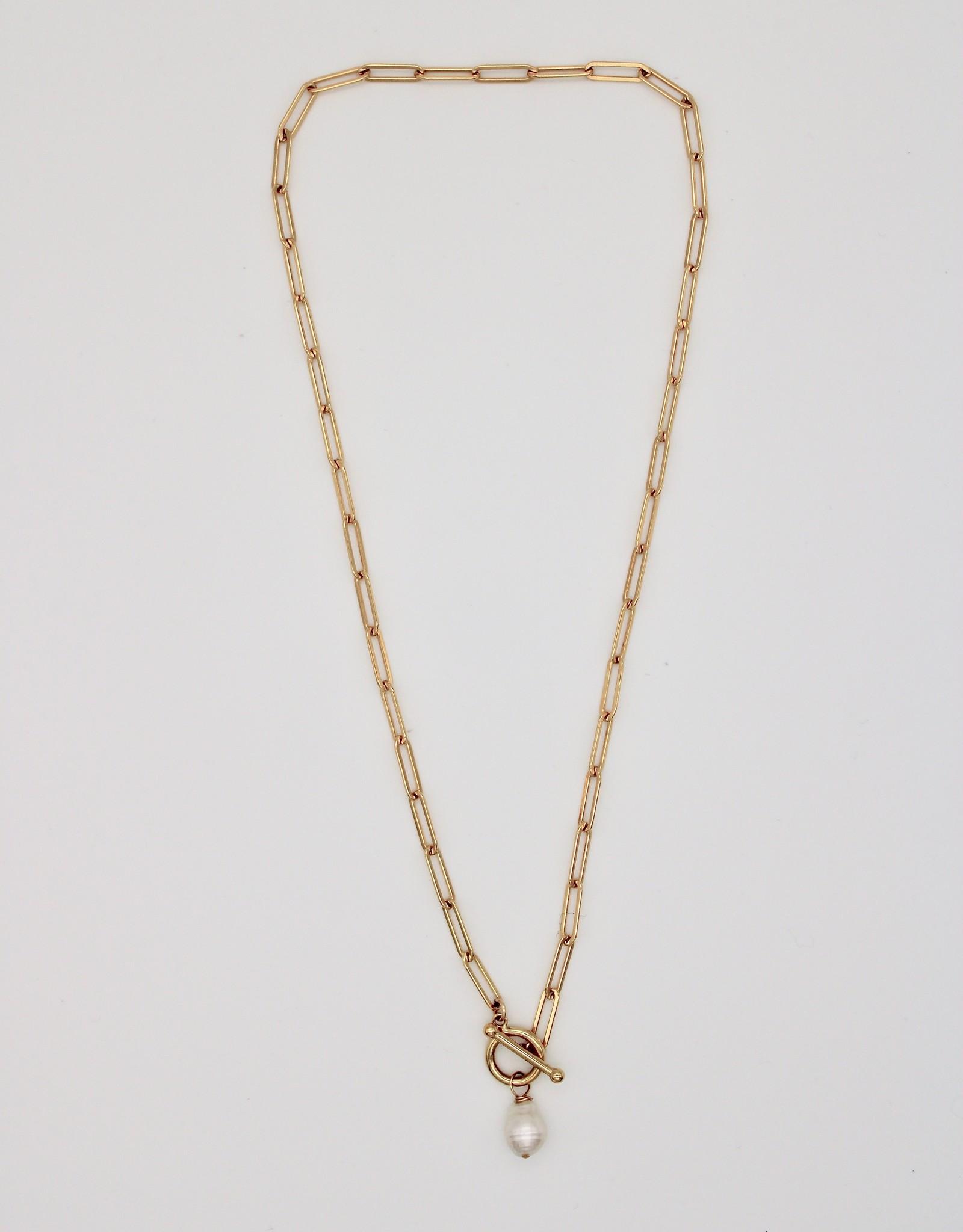 Karla Pattur KP33 Necklace w/ Saltwater Pearl