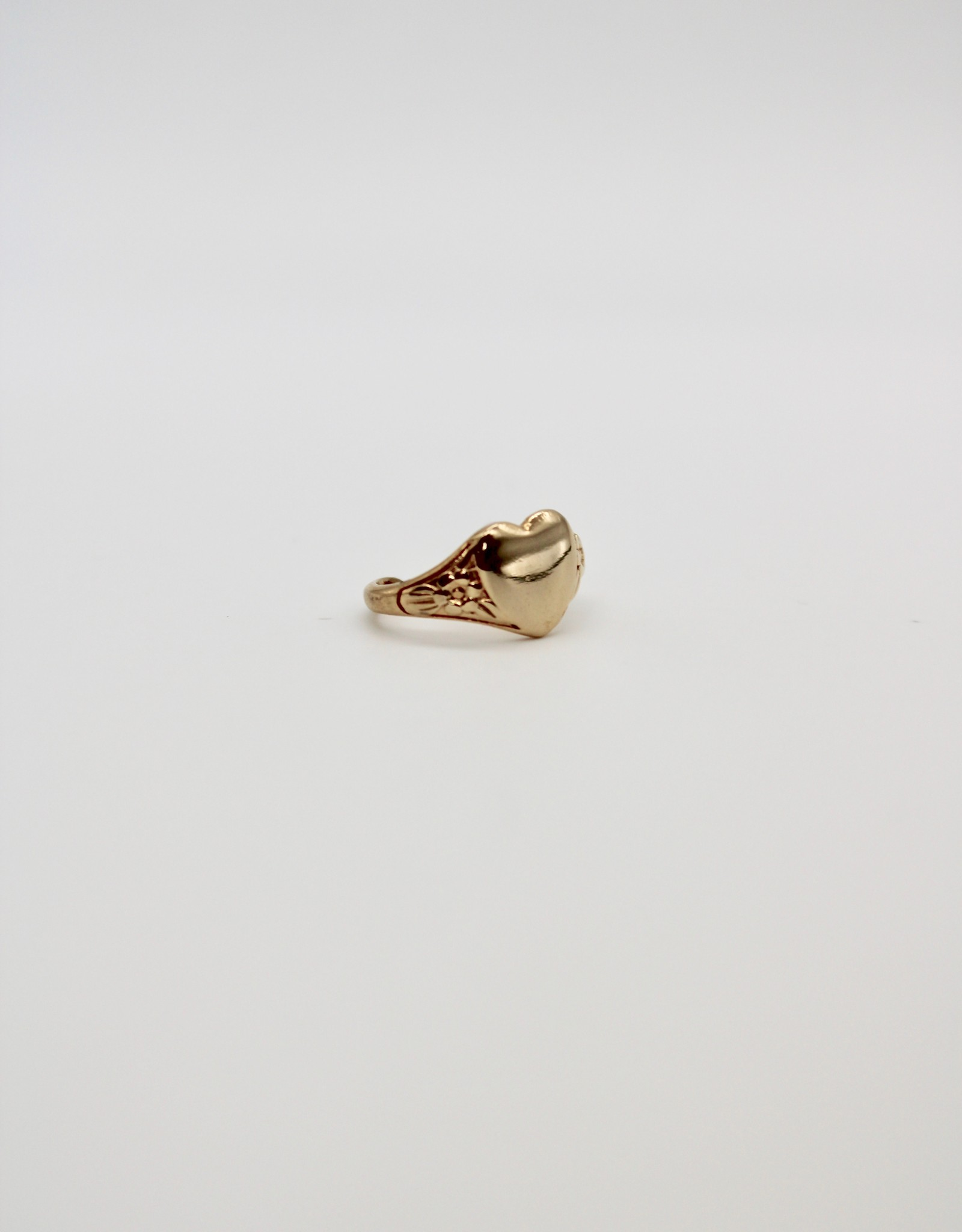 Madison Richey MR260 Gold Filled Heart Ring