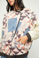 Free People OB1256783 Rudy Quilted Bomber Jacket