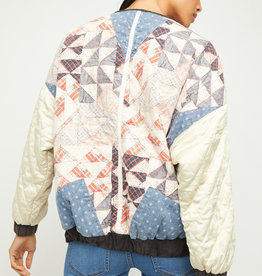 Free People Rudy Quilted Bomber Jacket