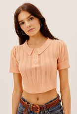 For Love and Lemon Phoebe Pointelle Sweater