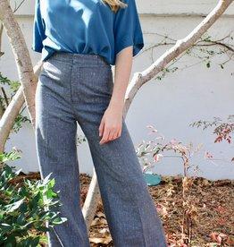 Vintage Vintage Grey Flare Pant