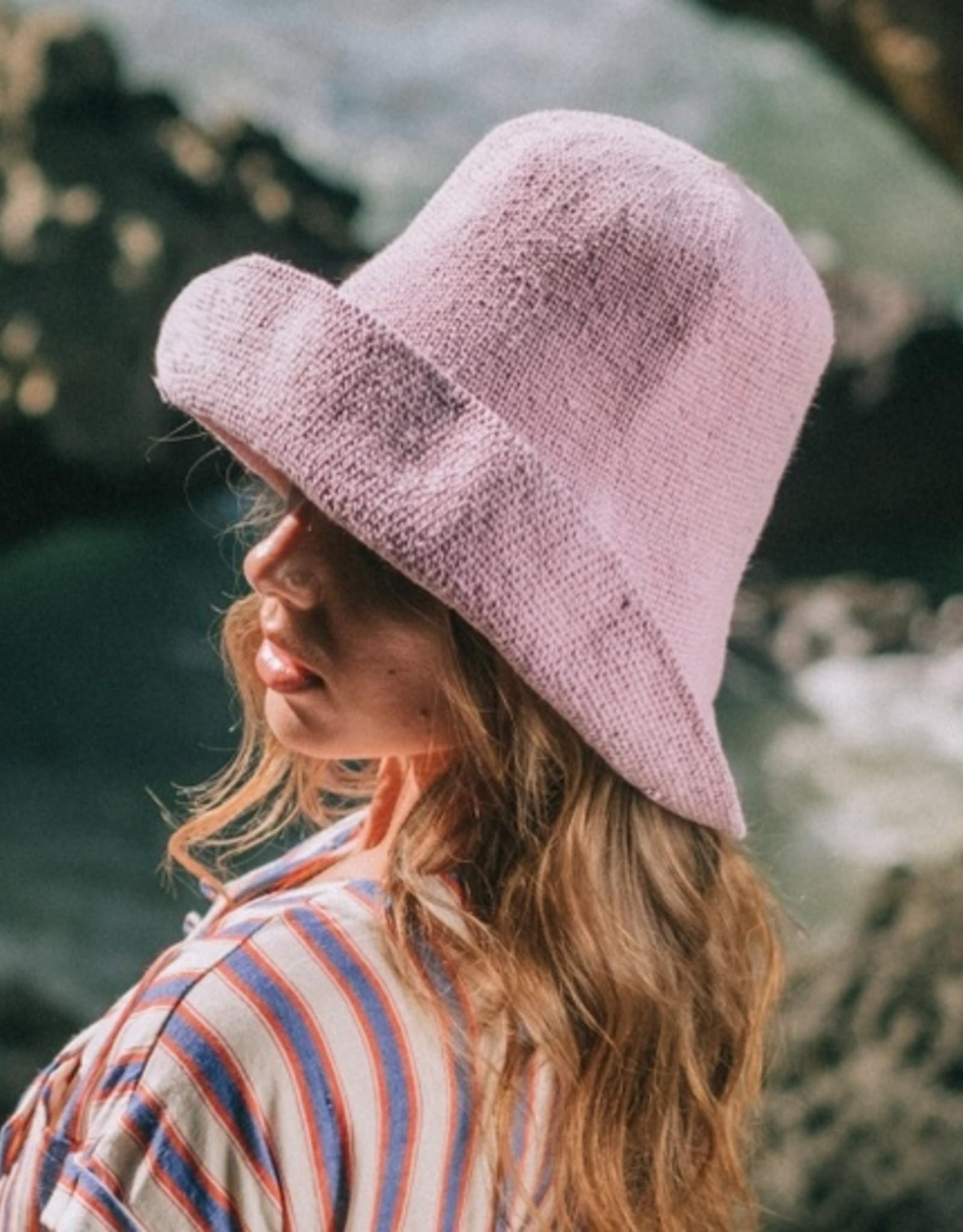 Brunna Co BLOOM Crochet Sun Hat Lilac Purple