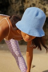 Brunna Co FLORETTE Crochet Bucket Hat Periwinkle Blue