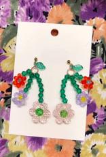 Rainbow Unicorn Birthday Surprise Shirley Bouquet Earring