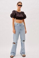 For Love and Lemon CT1727 Joanna Crop Top