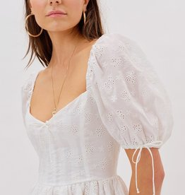 For Love and Lemon Jean Mini Dress