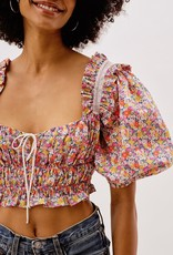 For Love and Lemon CT1743-SU21 Libby Top