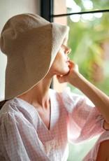 Brunna Co BLOOM Crochet Sun Hat White