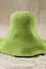 Brunna Co BLOOM Crochet Sun Hat Lime Green