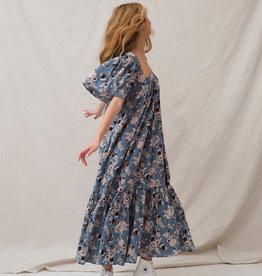 Ophelia & Indigo Fifi Square Neck Dress