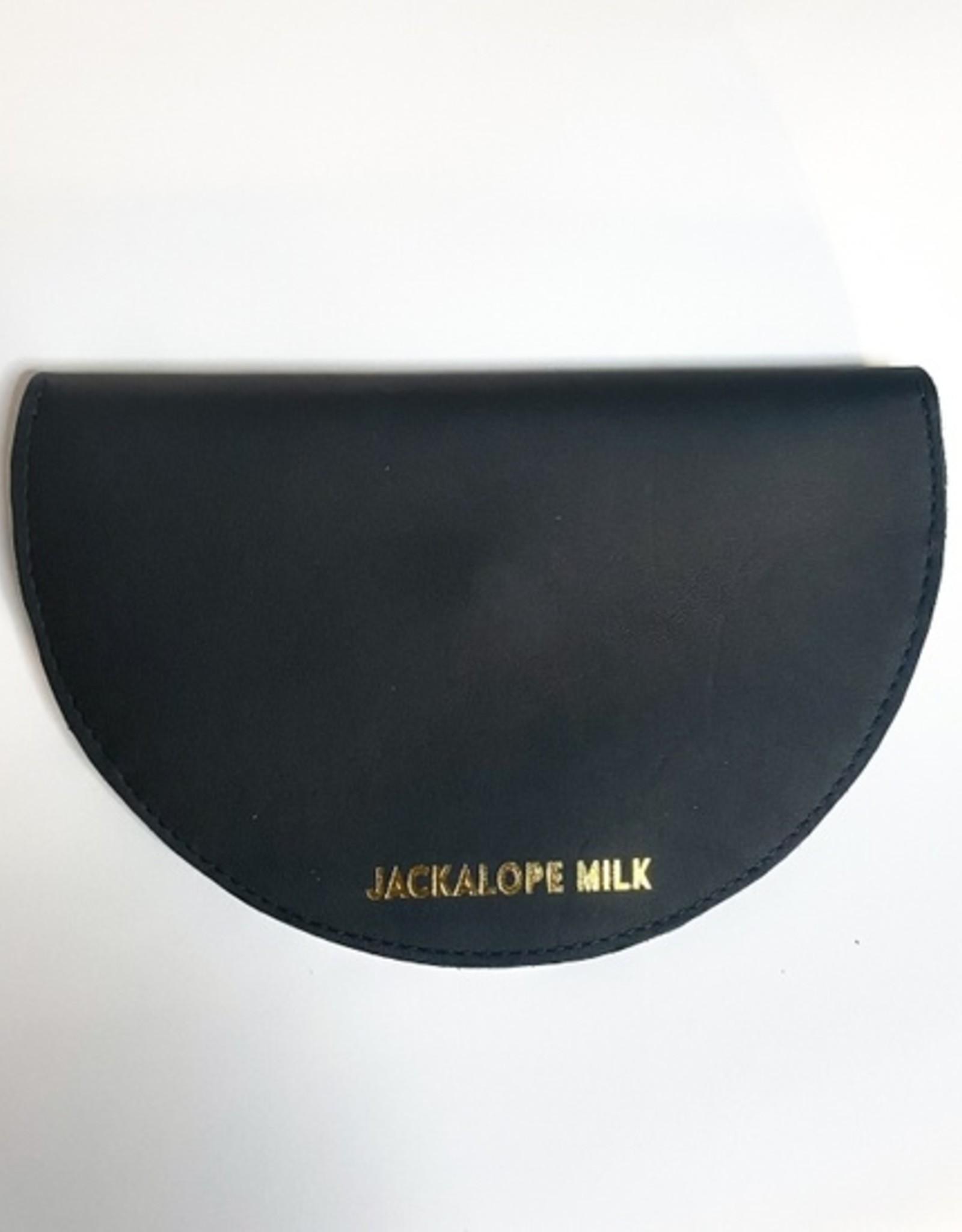 Jackalope Milk Large moon Clutch
